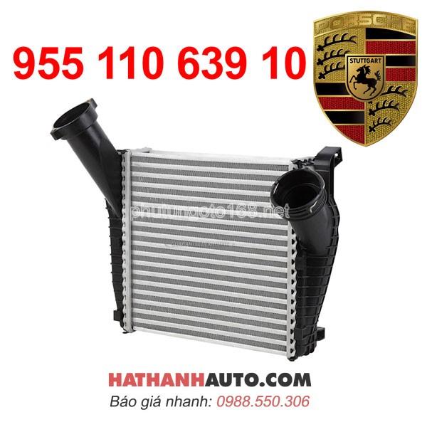 két giải nhiệt khí nén 955 110 639 10-két làm mát turbo 95511063910 xe Porsche Cayenne S