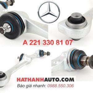A2213306707-A2213308107-càng I dưới trái 2213308107 xe Mercedes S350 S400 S550 S63 S65 AMG