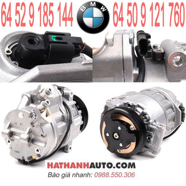 64509121760-lốc lạnh máy nén 64529185144 xe BMW X5 M-xDrive48i E70