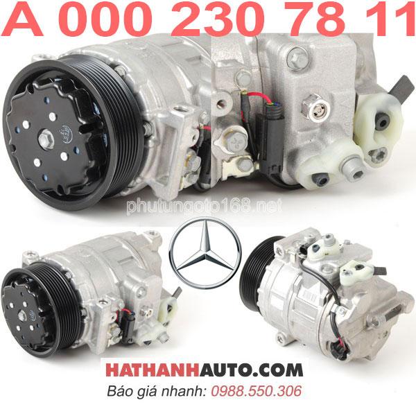 máy nén 0002307811 - lốc lạnh A000230781170 xe Mercedes C32 AMG