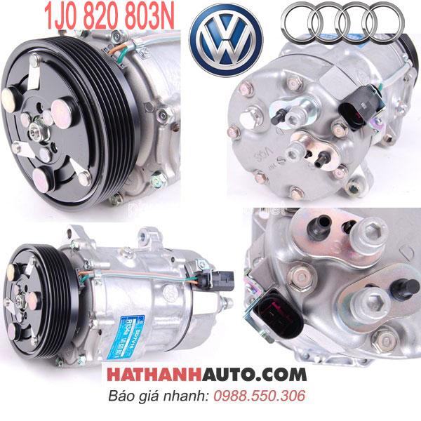 1J0820803L-1J0820803F-1J0820803K-1JE820803A-lốc lạnh máy nén 1J0820803N xe Audi TT MKI Volkswagen Golf IV Jetta IV