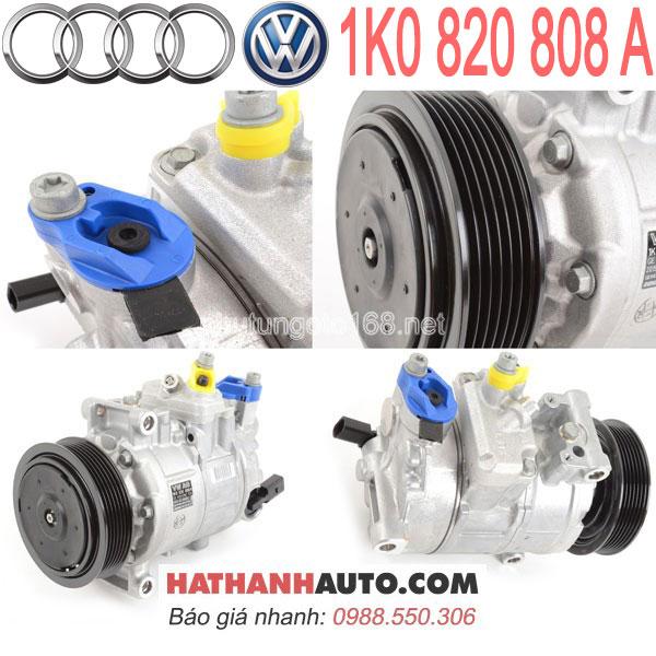 1K0820859H-1K0820859P-máy nén lốc lạnh 1K0820808A xe Audi A3 8P-TT MKII Volkswagen EOS-Jetta VI
