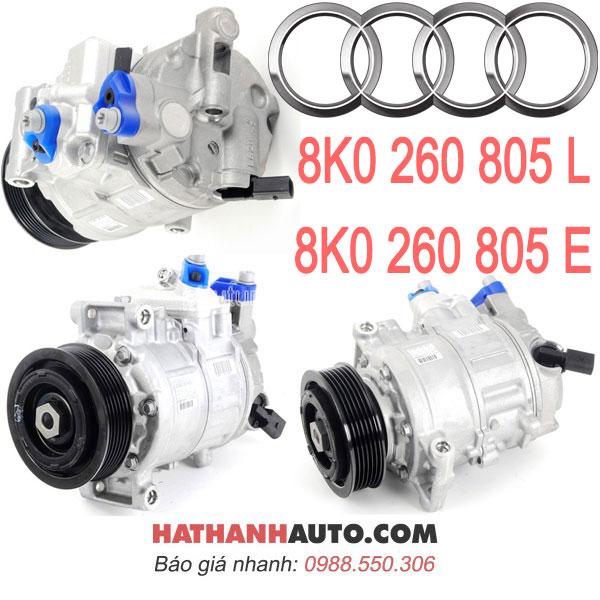8K0 260 805 E-máy nén lốc lạnh 8K0260805L xe Audi A4-A5-Q5