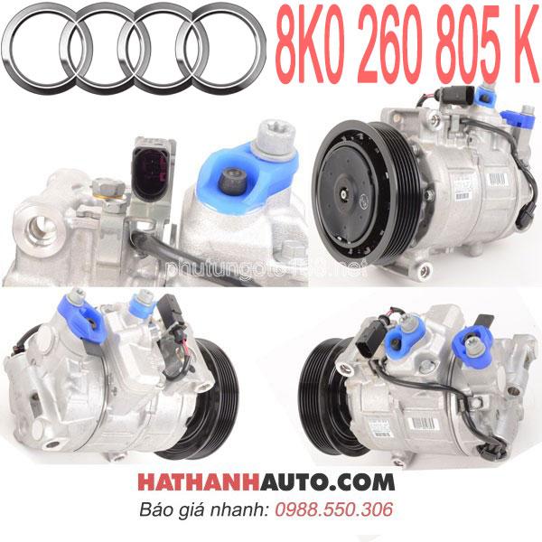 8K0260805D-8K0260805G-lốc lạnh máy nén 8K0260805K xe Audi A4-A5-S4