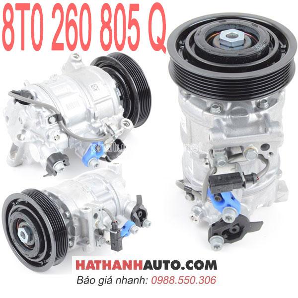 8T0 260 805 G-máy nén lốc lạnh 8T0260805Q xe Audi B8 S4-B8 S5-Q5-SQ5