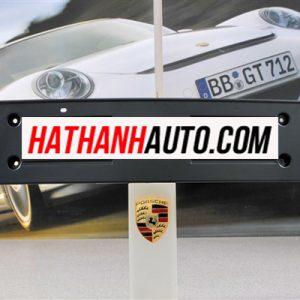 Ốp bắt biển số trước xe Porsche Cayenne V8